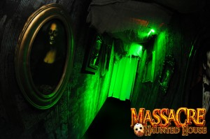 Massacre Haunted House breaches contact contract