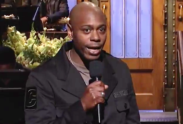 """Dave Chappelle brings the nation together in first post-election """"Saturday Night Live"""""""