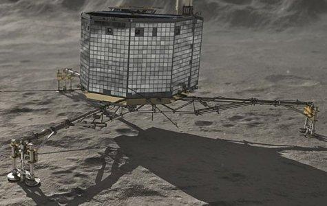 Philae module lands on comet 67P