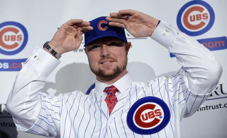 New Cub Jon Lester hopes to add more depth to the pitching staff in this upcoming season. The lefty posted a 2.46 ERA last year with Oakland.