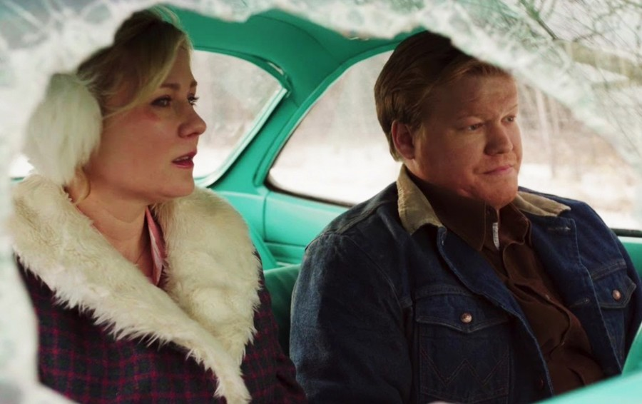 Kirsten Dunst and Jesse Plemons in