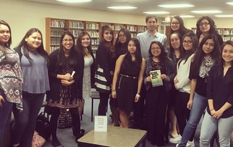 One of the features of Latinas Achieving Success is a book club, who read Matt de la Peña's