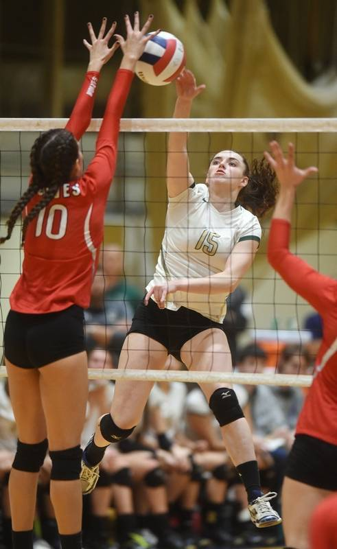 Championship run falls short for girls volleyball