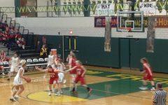 Girls basketball dominates in Senior Night blowout against Barrington