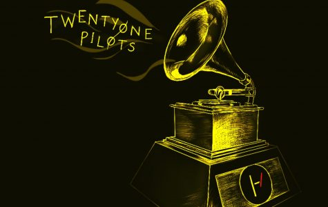 "Twenty Øne Piløts received a Grammy for best pop duo/group performance for their wildly popular hit ""Stressed Out."""