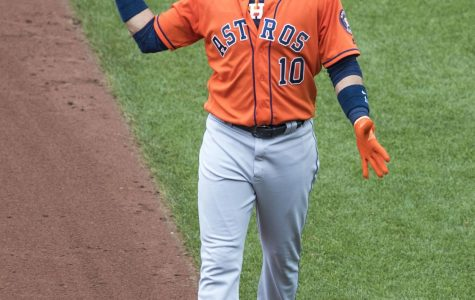 Yuli Gurriel of the Astros was seen making a racist gesture during the third game of the World Series.