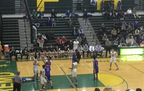 Boys basketball dominates Hoffman in strong defensive showing